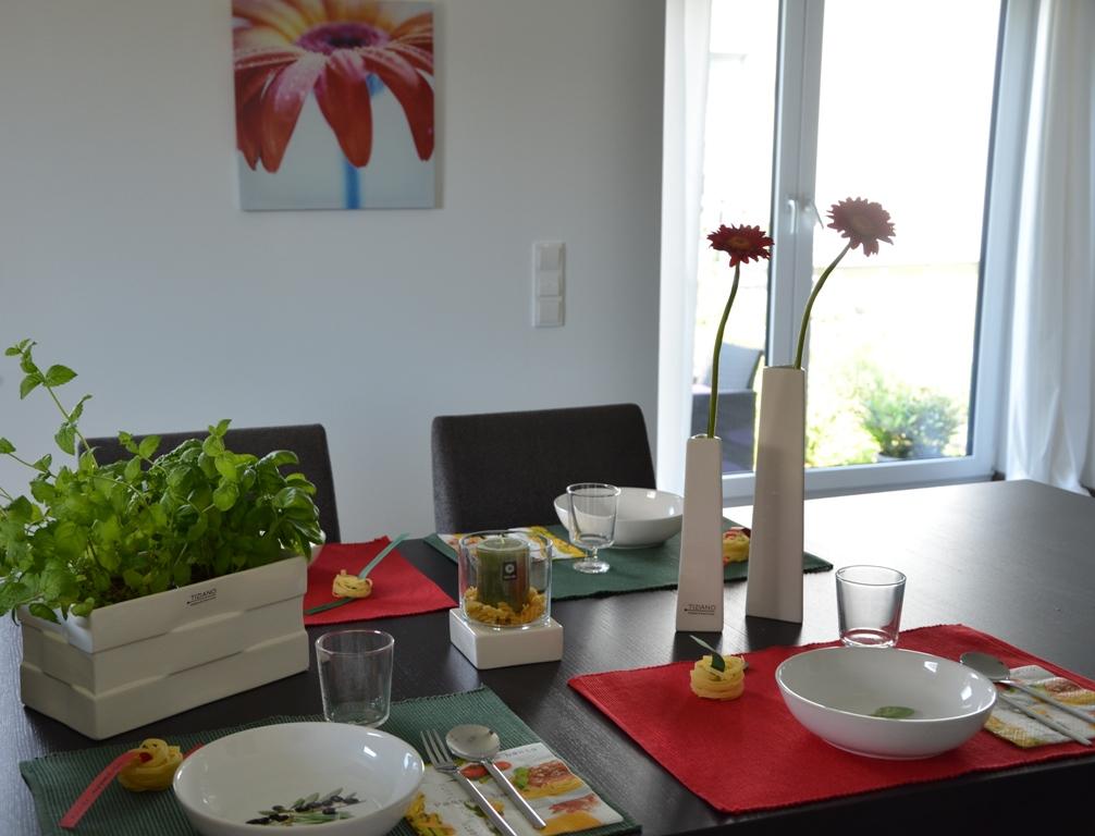 buon appetito italienische tischdeko tiziano design. Black Bedroom Furniture Sets. Home Design Ideas