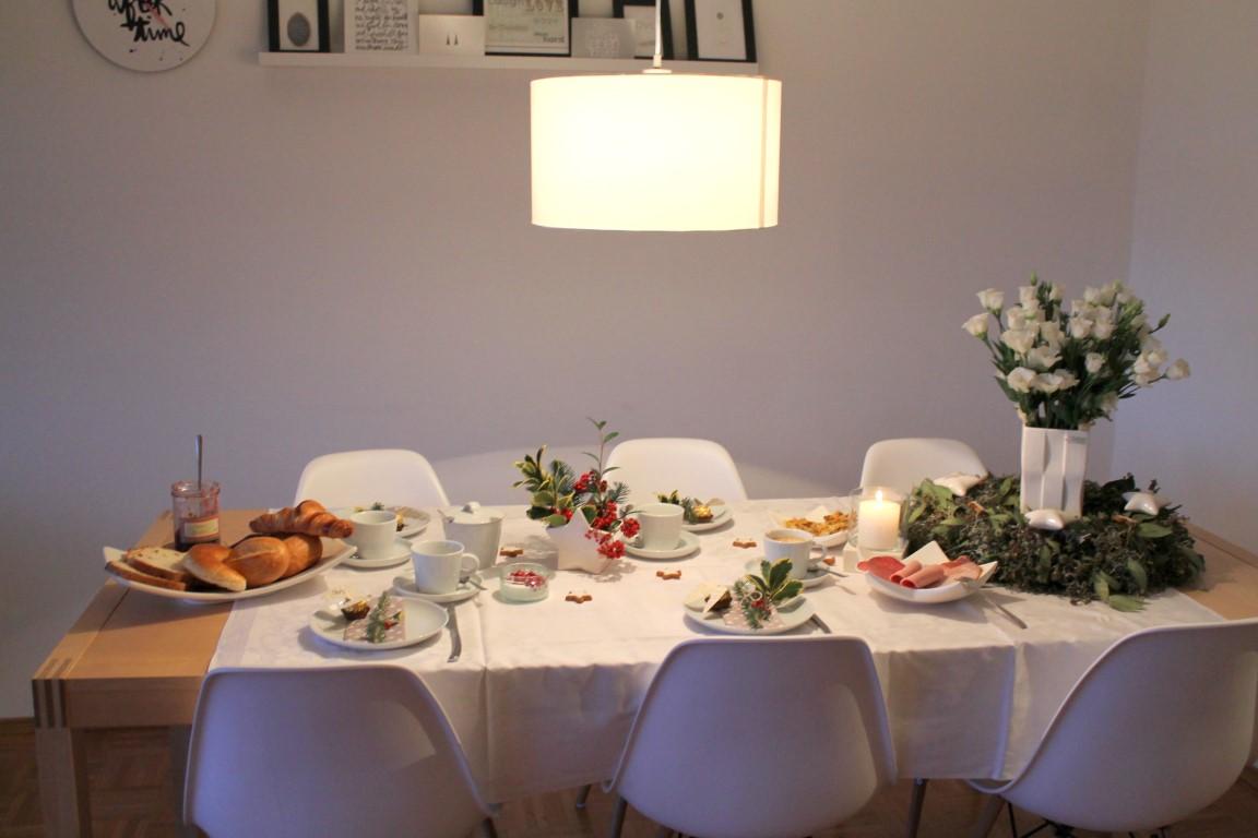 Tischdeko zum adventsfr hst ck tiziano design for Design tischdeko