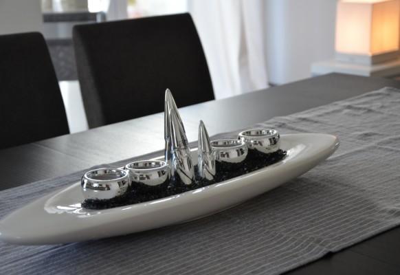 tischdeko silber alle guten ideen ber die ehe. Black Bedroom Furniture Sets. Home Design Ideas