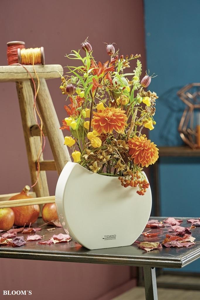 Herbstfloristik in leuchtenden Farben  TIZIANO Design